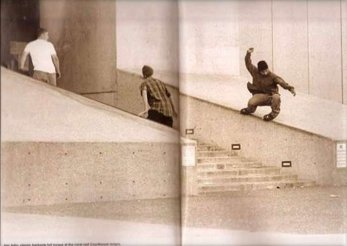 Picture of the day: Jon Julio - Coral Reef Ledge (Daily Bread, 2000)