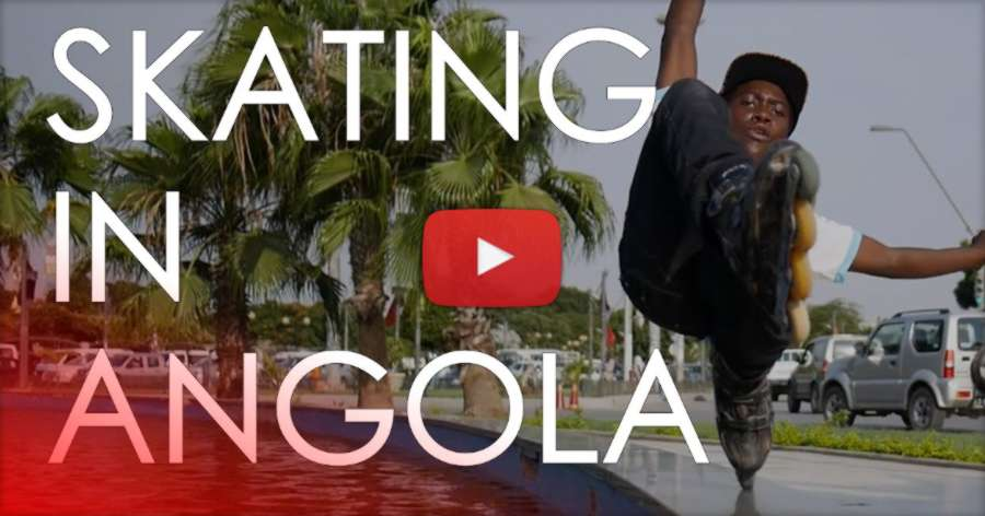 Aggressive And Urban Inline Skating In Angola (South Africa) by Ricardo Lino