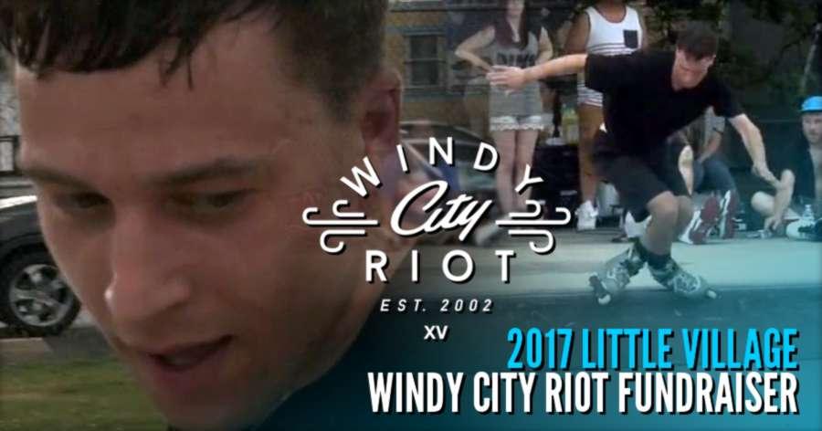 Andrew Nemiroski takes the 2017 Windy City Riot fundraiser held at Little Village skatepark in south Chicago