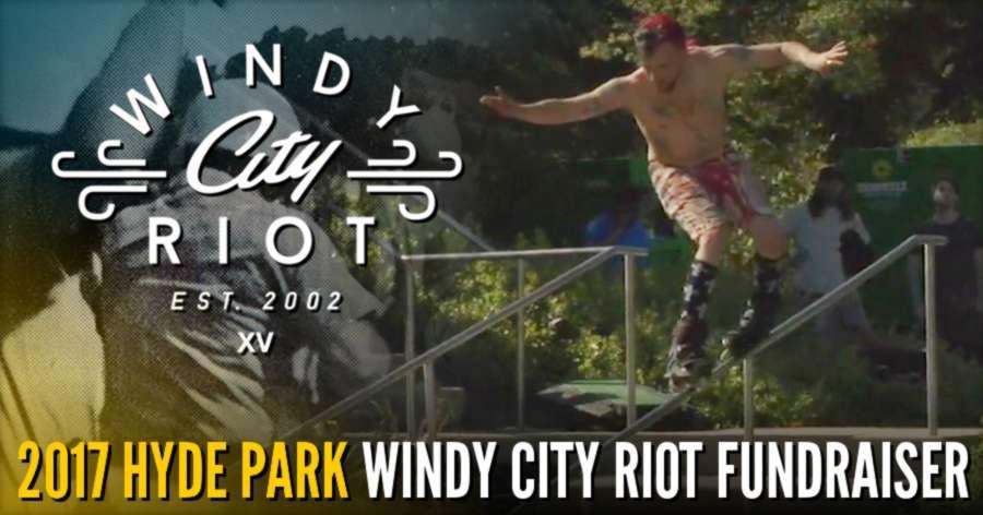 Steve Lerner takes the 2017 Hyde Park Windy City Riot Fundraiser