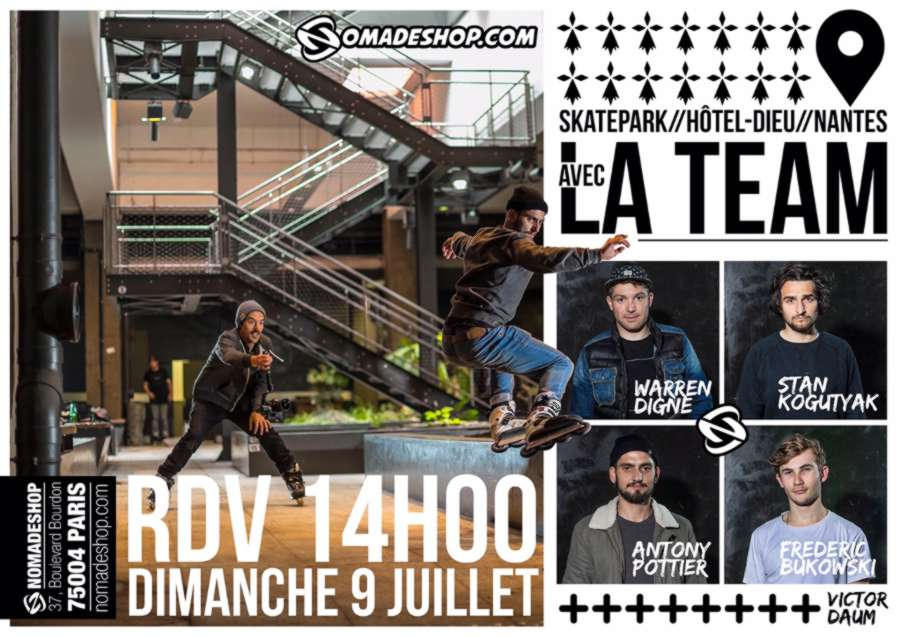 Nomadeshop Team - Nantes (France) - 9 Juillet 2017 (FLYER)