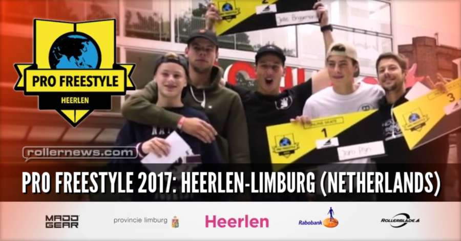 Pro Freestyle 2017: Heerlen Limburg (Netherlands) - Rollerblade Inline Skate Open, Highlights (Pro)