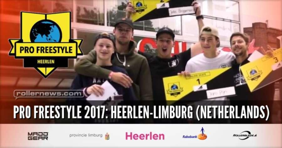 Pro Freestyle 2017: Heerlen Limburg (Netherlands) - Rollerblade Inline Skate Open, Highlights (Pro)