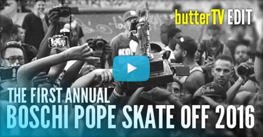 The 2017 Boschi Pope Skate Off (NY)