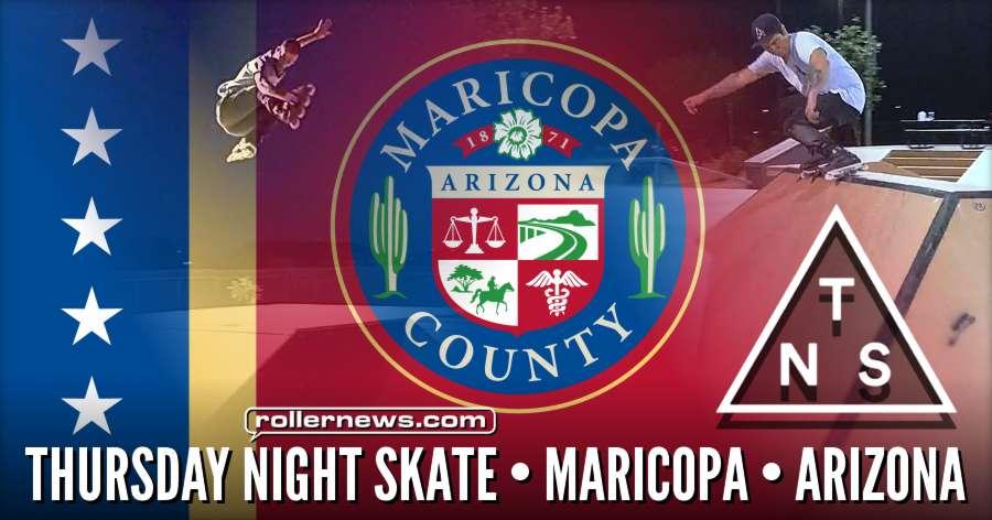 Thursday Night Skate (TNS) in Maricopa (Arizona, 6.29.17) by Ryan Buchanan