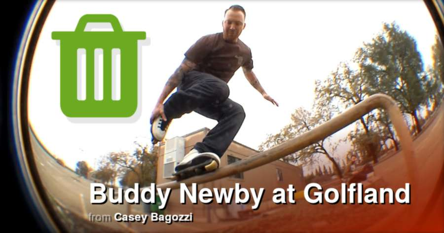 Buddy Newby at Golfland (2017) by Casey Bagozzi