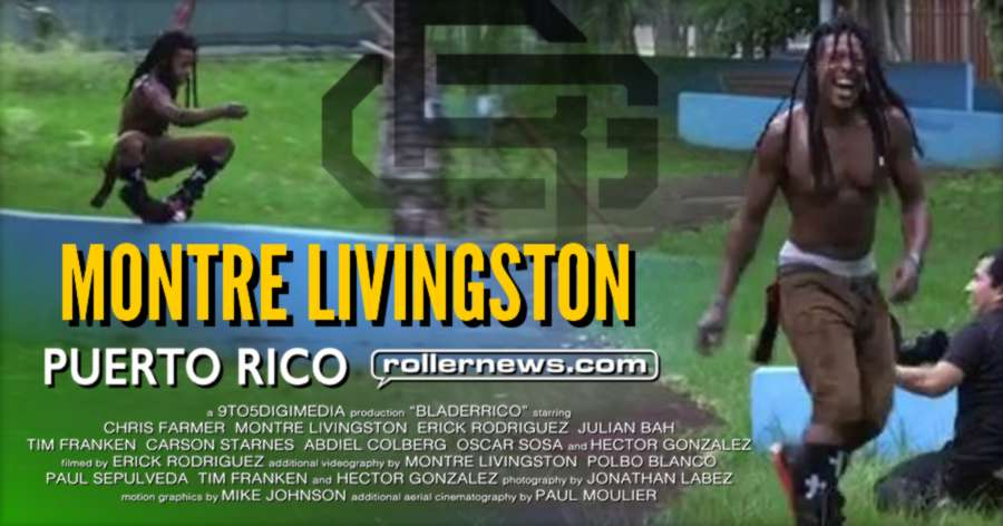 Trick of the day: Montre Livingston, doing the \ / trick (how is it called again?) - Blader Rico, Blader Gang