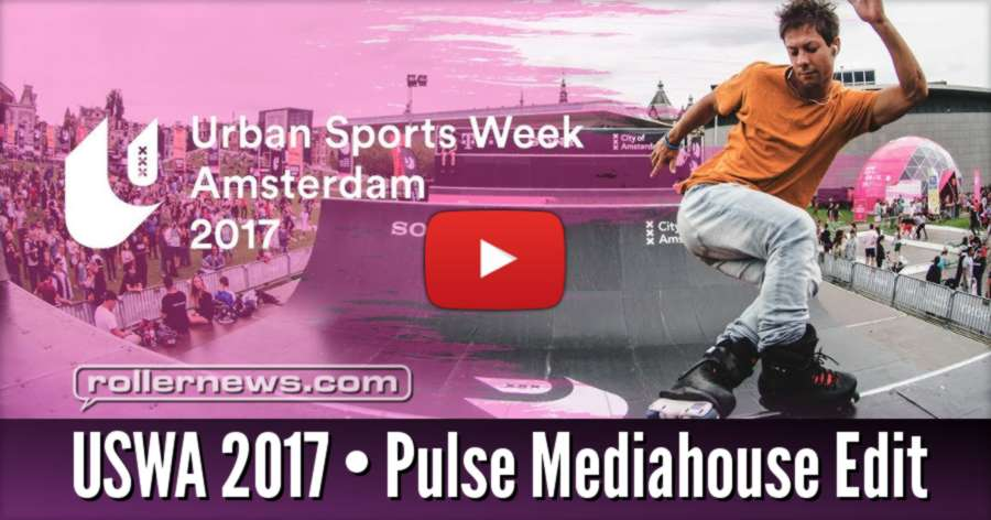USWA 2017 | Inline skating Highlights by Jeff Hofstede (Pulse Mediahouse)