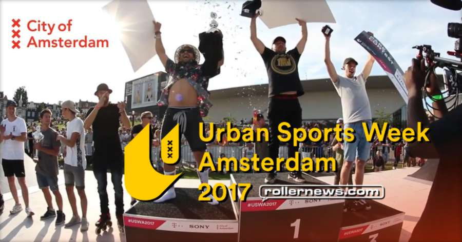 Urban Sports Week (Amsterdam, 2017) by Sven Boekhorst