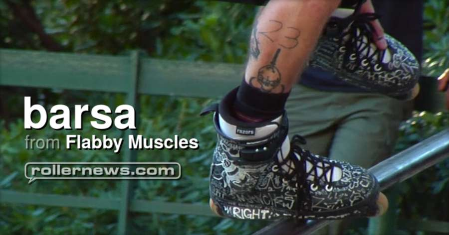 Flabby Muscles - Barsa. 4 days in Barcelona for Json Adriani's Bachelor Party (2017)