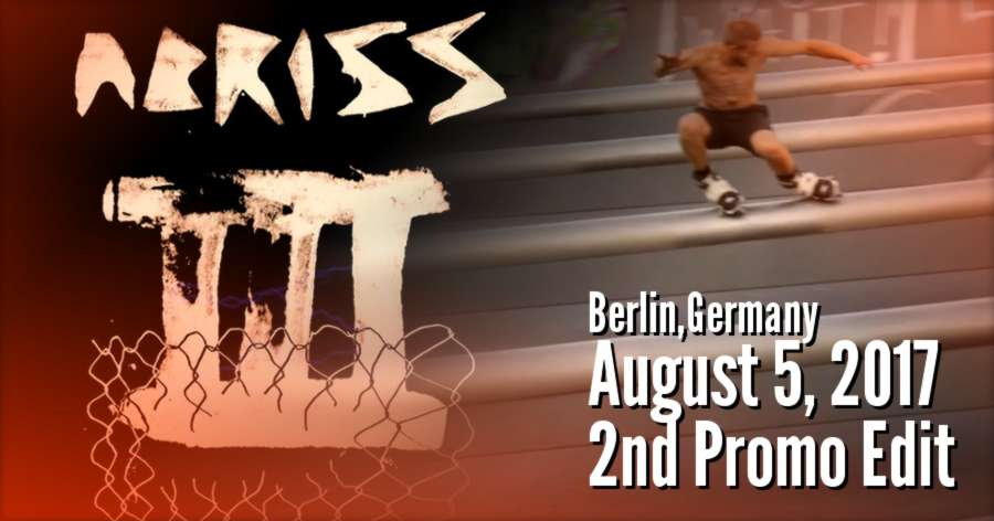 Abriss III (Berlin, Germany - August 5, 2017): 2nd Spot Promo, Mushroom Edition
