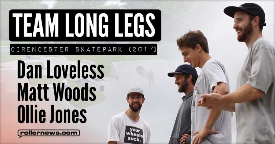 Long Legs Session at Cirencester Skatepark (2017) by Lewis Blackburn
