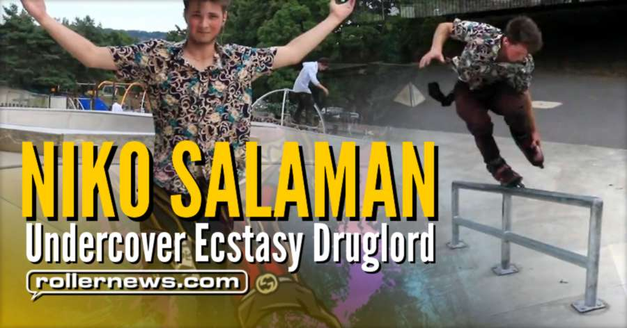 Niko Salaman - Undercover Ecstasy Druglord (2017, UK) - Park Clips