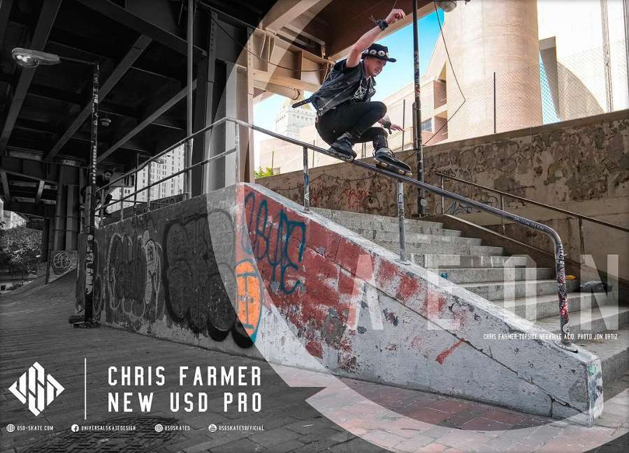 Chris Farmer - New USD Pro (July 2017)