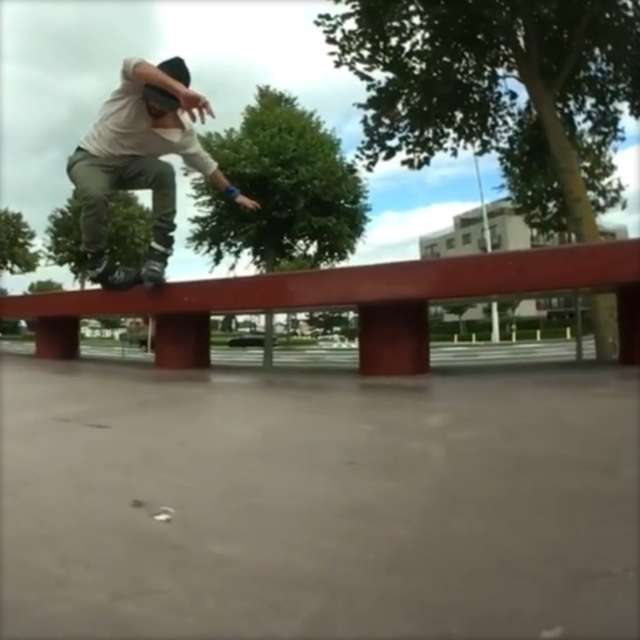 Clips of the Day: Rare Moves with Richie Eisler (Belgium, 2017)