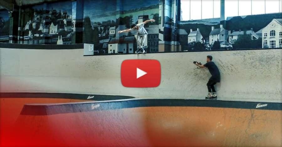 Dan Loveless (UK) - 4 hours at Rush Skatepark, Edit by Lewis Blackburn
