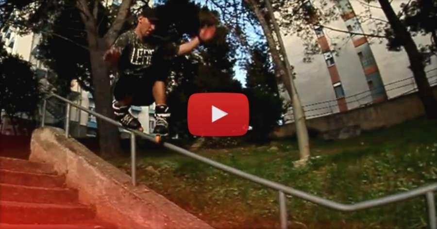 Sven Bursic (30, Croatia) - XWD Skateshop x Leaf Frames, 2017 Edit