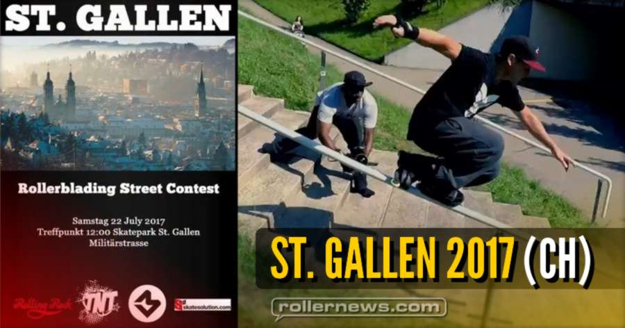 St. Gallen 2017 (Switzerland) Street Comp - winner: Beat Schillmeier, Edit by Martin Bommeli