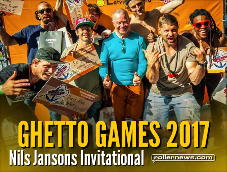 Ghetto Games 2017 (Latvia) - Nils Jansons Invitational, Videos, Promos & Results