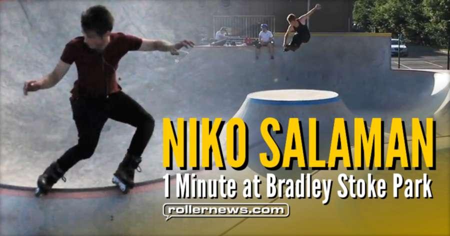 Niko Salaman - One minute at Bradley Stoke Skatepark (UK, 2017)