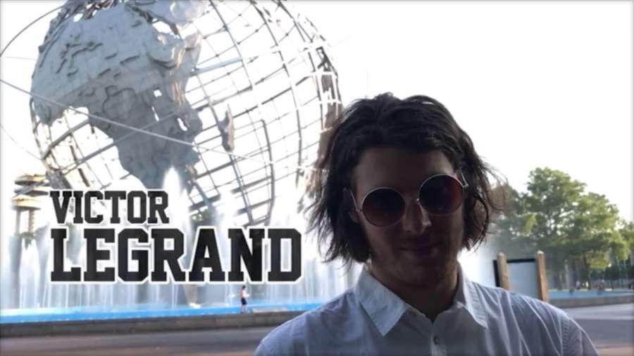 Victor Legrand - Razors NYC (2017) by Sean Grossman