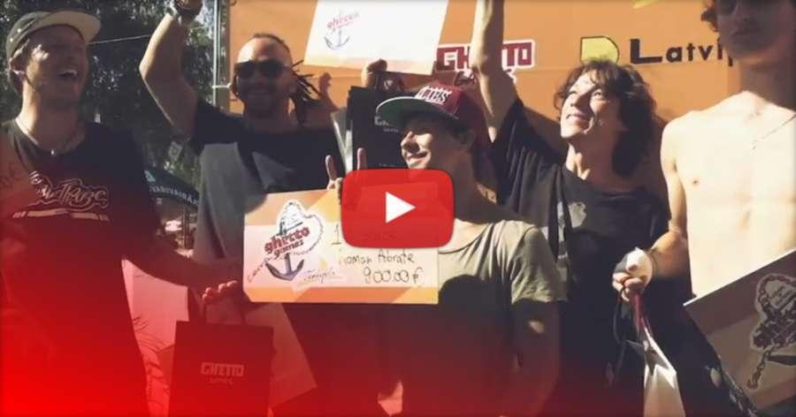 GGfest 2017 - Inline Winner: Roman Abrate (FRA) Interview