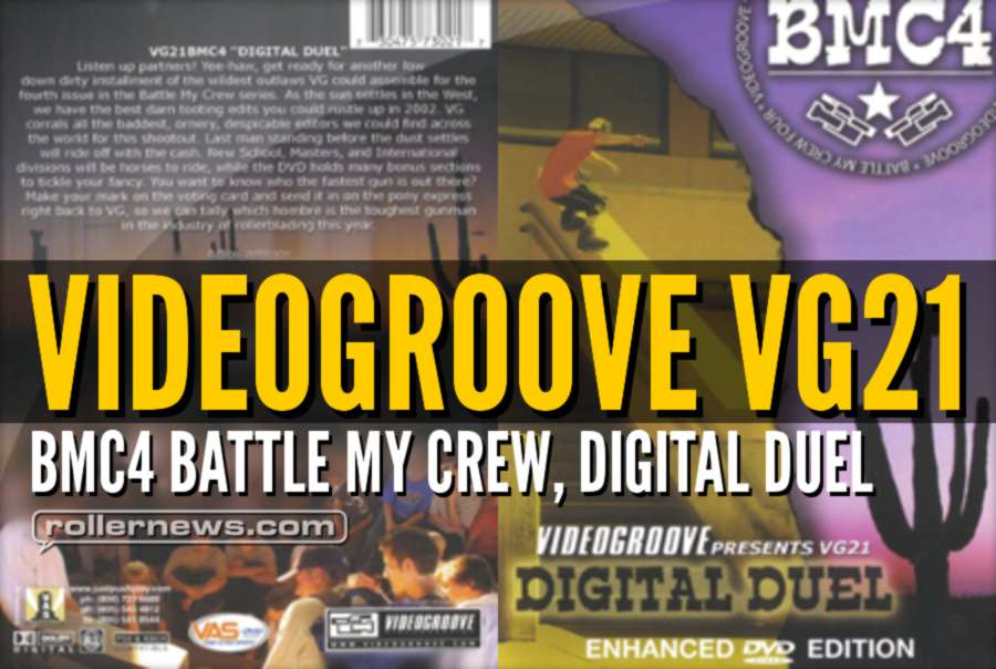 Videogroove VG21: BMC4 Battle My Crew, Digital Duel - Full Video