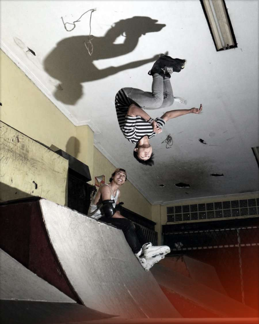 Jessy Suryanegara (Indonesia) - Backflip to Ceiling Tap