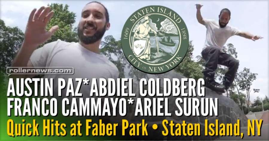 Abdiel Coldberg, Franco Cammayo, Austin Paz & Ariel Surun - Quick Hits @ Faber Park (Staten Island, NY 2017)