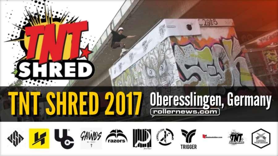TNT SHRED 2017 (Oberesslingen, Germany) - Edit by Wolfgang Appelt + Results