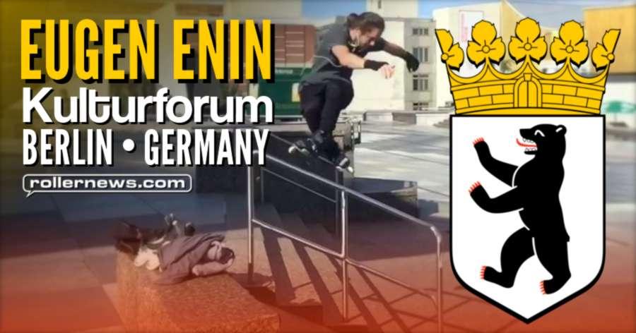 Eugen Enin shredding the Kulturforum in Berlin (Germany, 2017)
