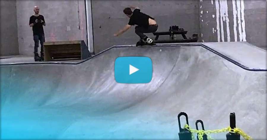 Chad Hornish - Thursday Night Skate in Chandler (Arizona, August 2017) - Clips
