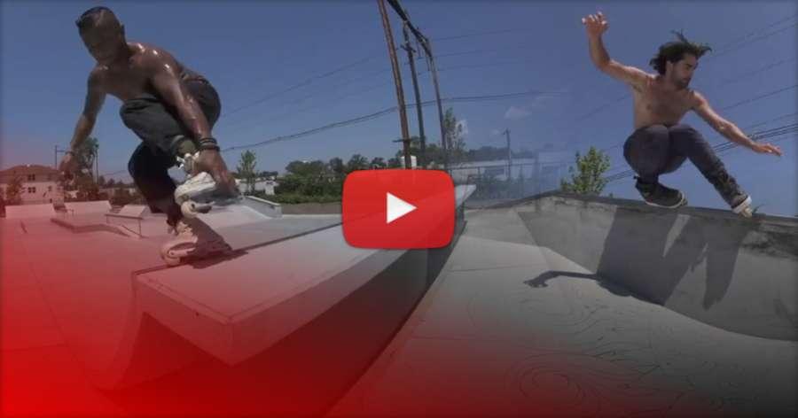 Franco Cammayo, Billy O'Neill, Austin Paz & Joey Scannella - Christiani Skate Park Quick Hits (New Jersey, 2017)