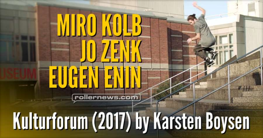 Kulturforum (2017) by Karsten Boysen - with Eugen Enin, Jo Zenk & Friends