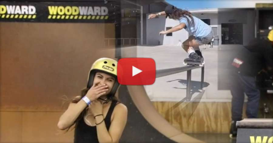 Coco Sanchez - Bye mom! We're going to Woodward (2017)