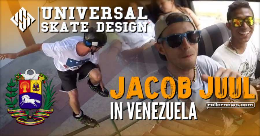 Jacob Juul in Venezuela (2017) - USD Skates