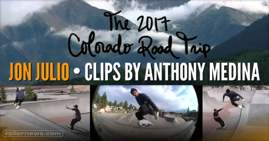 Jon Julio (40) - #CORT19 (Colorado Road Trip, 2017) - Quick Clips by Anthony Medina