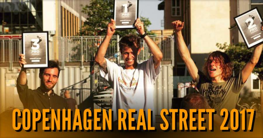 Copenhagen Real Street 2017 - Results & Clips of Scott Quinn