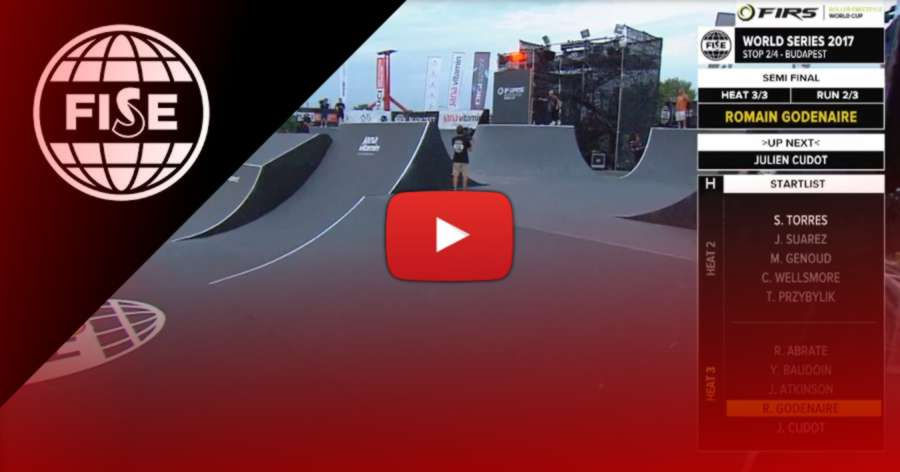 FISE World Budapest 2017 - Day 2: Semi Finals, 1st place: Roman Godenaire