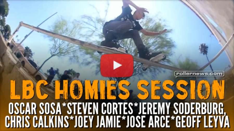 LBC Homies Session (2017) by Chris Calkins