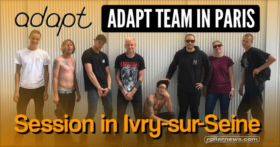 Adapt Team in Paris (France, 2017) - Session with Julian Bah, Russel Day, Sem Croft