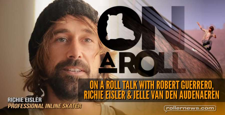 Robert Guerrero & Richie Eisler speak about 'On a Roll' (out in 8 days)