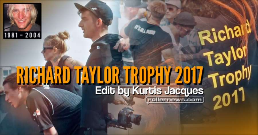 Richard Taylor Trophy 2017 - Edit by Kurtis Jacques