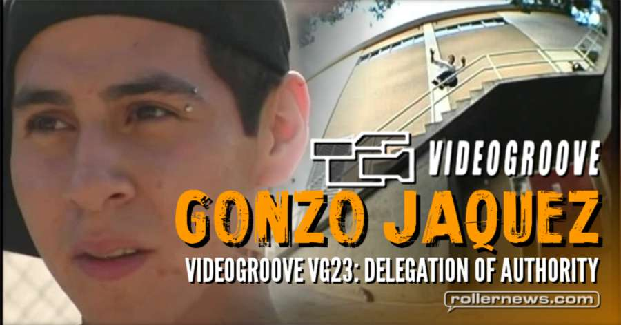 Gonzo Jaquez - Videogroove VG23: Delegation of authority (2005)