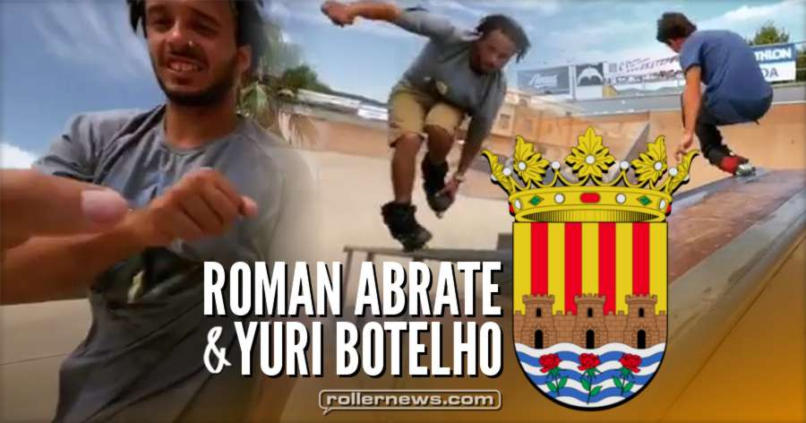 Roman Abrate & Yuri Botelho - Chill Park Session in Onda (Spain, 2017)