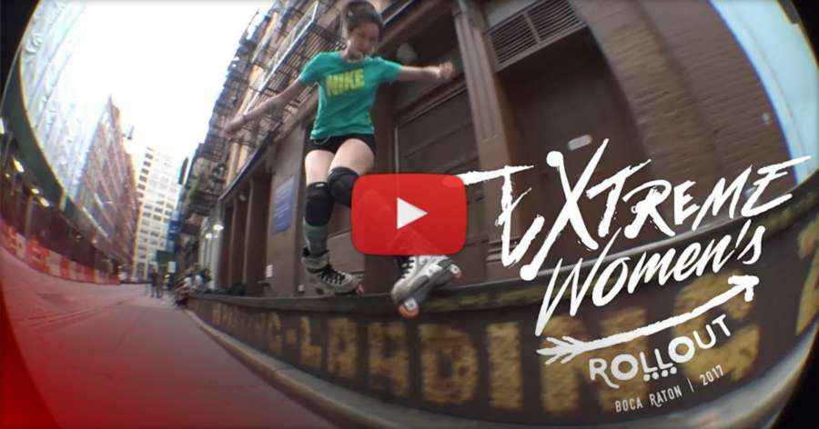 Korina Calderon (NYC) - Invitation to the Extreme Women's Roll Out (2017)