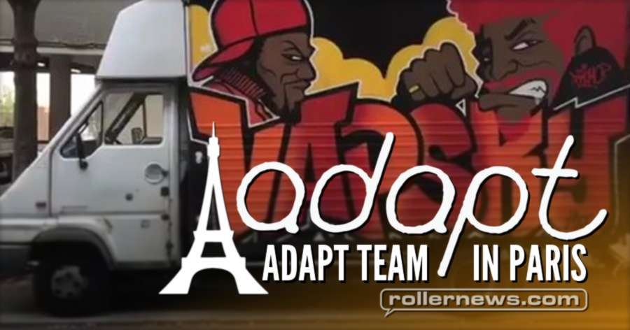 Adapt Team in Paris (France, 2017) - Fun Times with Julian Bah, Russel Day, Sem Croft