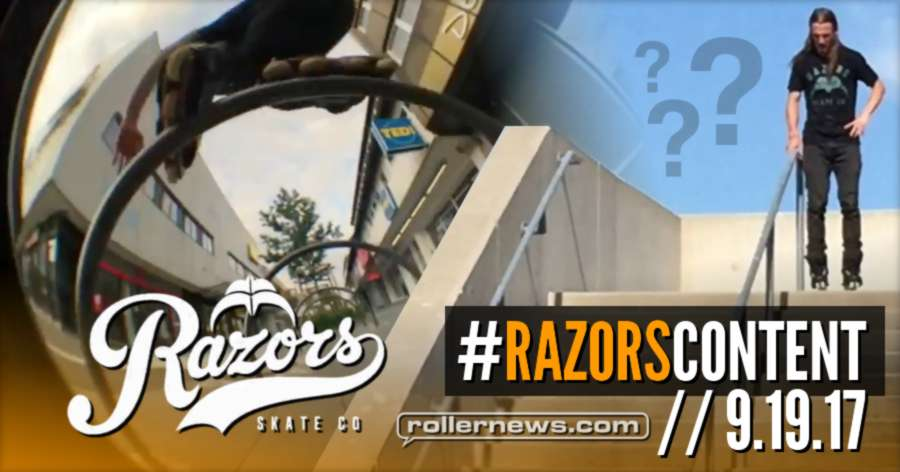 Razors new team edit in the making: 'Content' (out 9.19.17) - Teaser