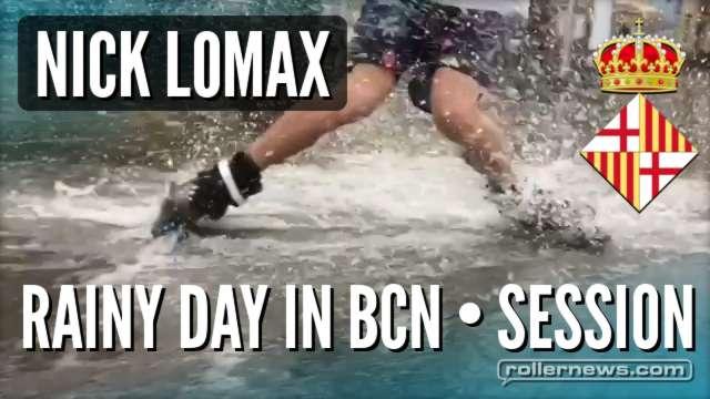 Nick Lomax - Rainy Day in Barcelona (2017)