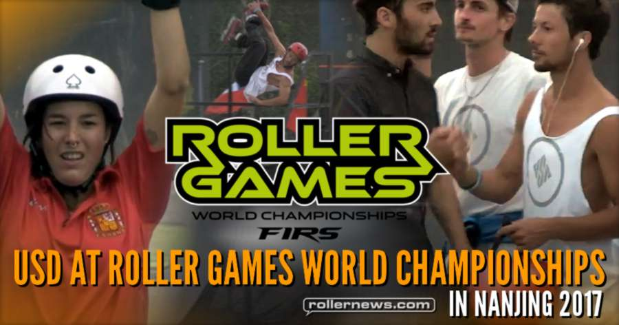USD at Roller Games World Championships 2017 in Nanjing (China)